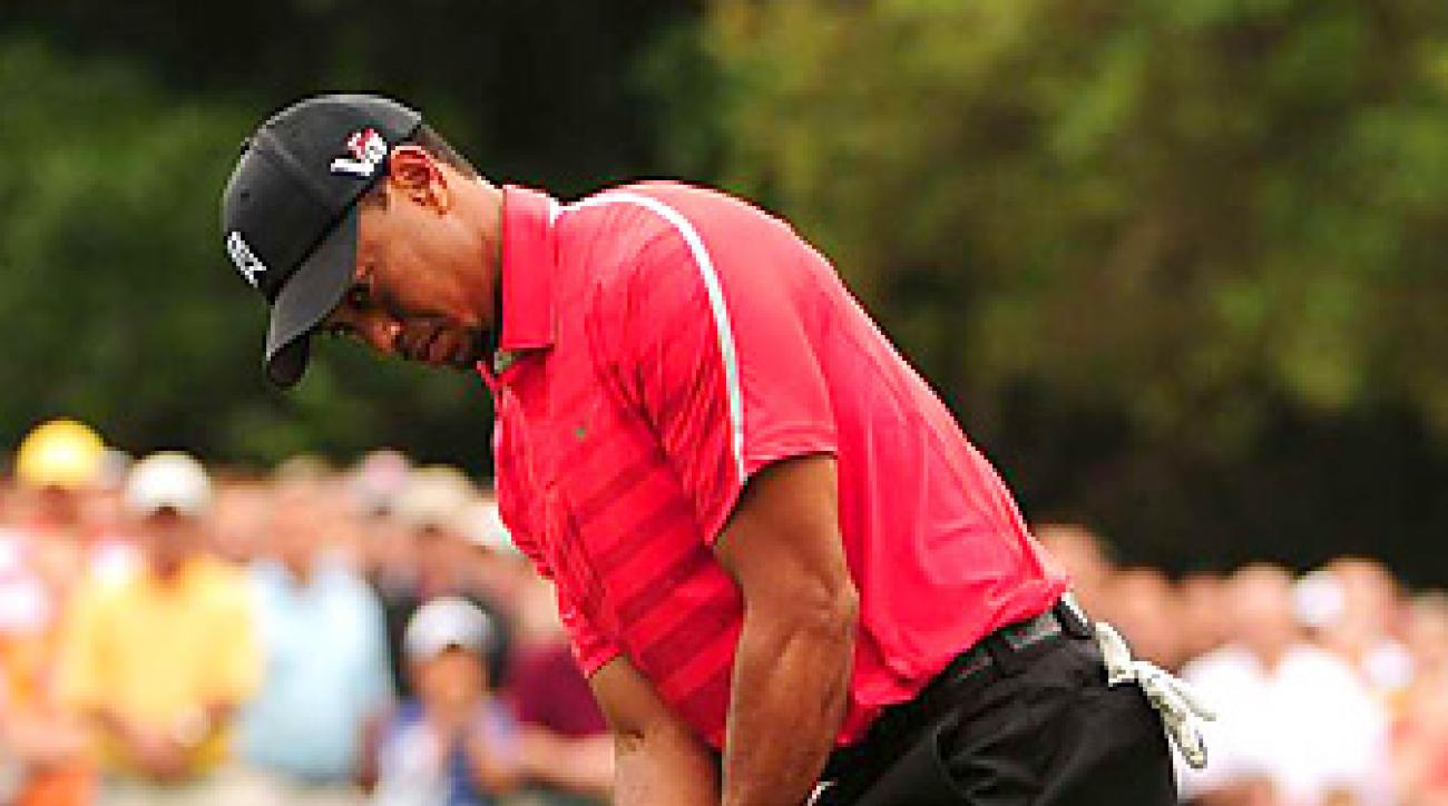 Tiger Woods has improved his play on the greens this season, including at Bay Hill.