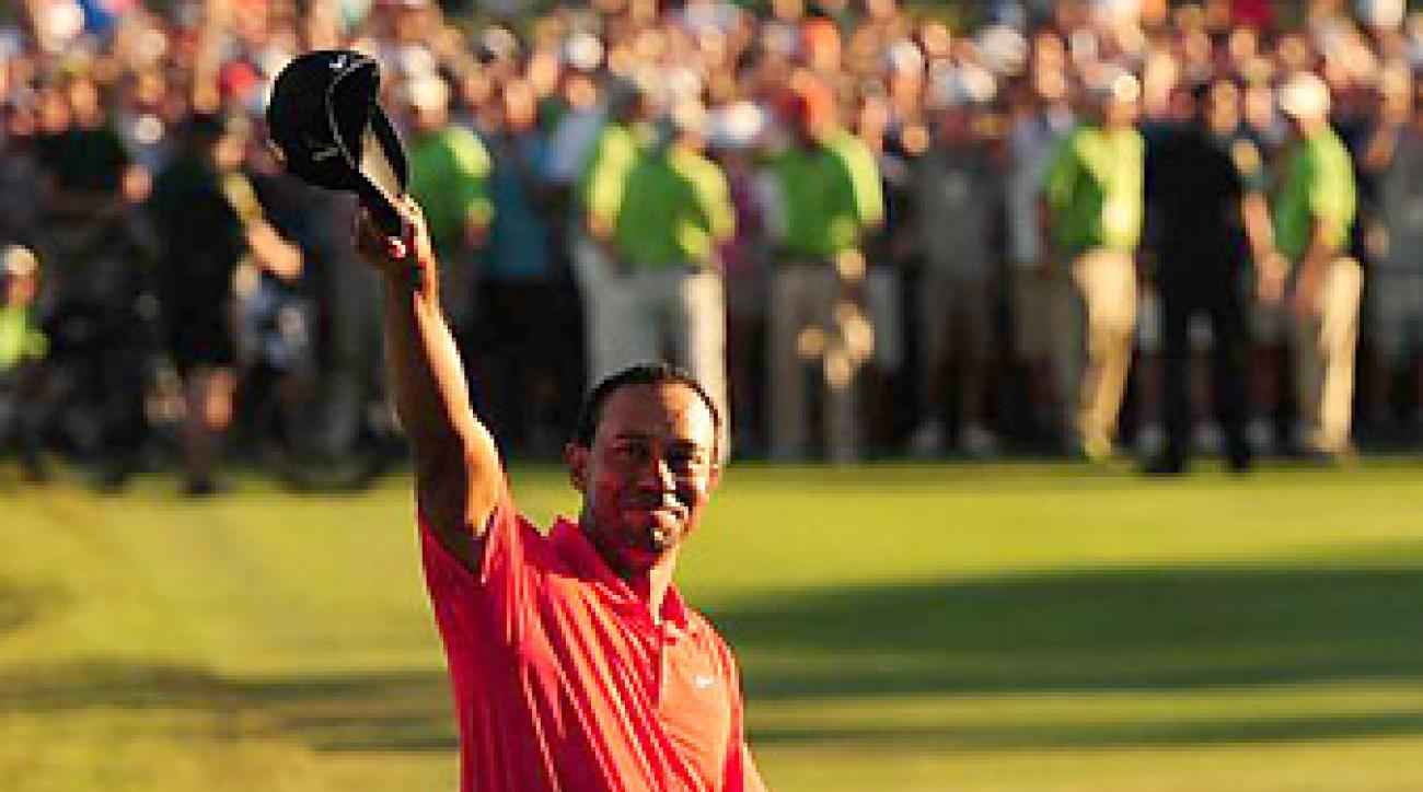 Tiger Woods ended a 30-month winless drought on Sunday at Bay Hill.