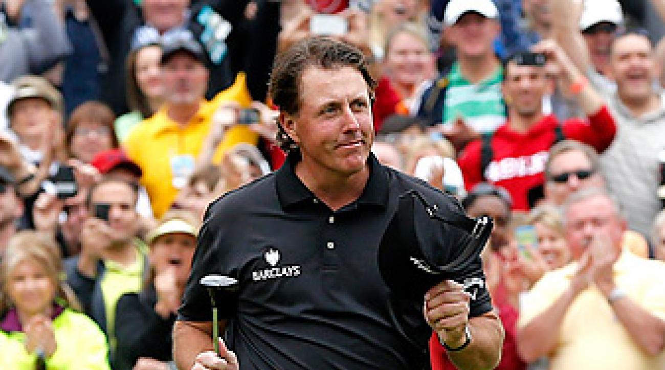 Phil Mickelson won the Waste Management Phoenix Open by four shots for his 41st career PGA Tour title.