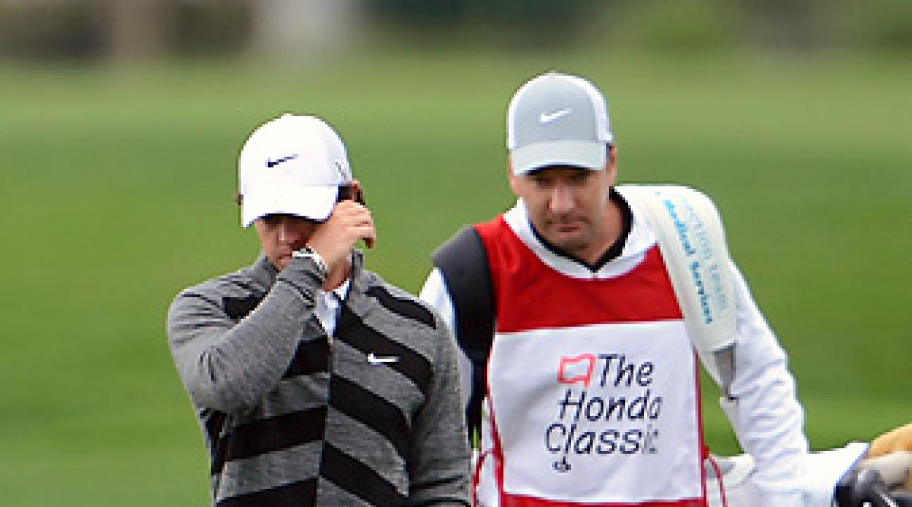 Rory McIlroy withdrew eight holes into his second round at the Honda Classic.