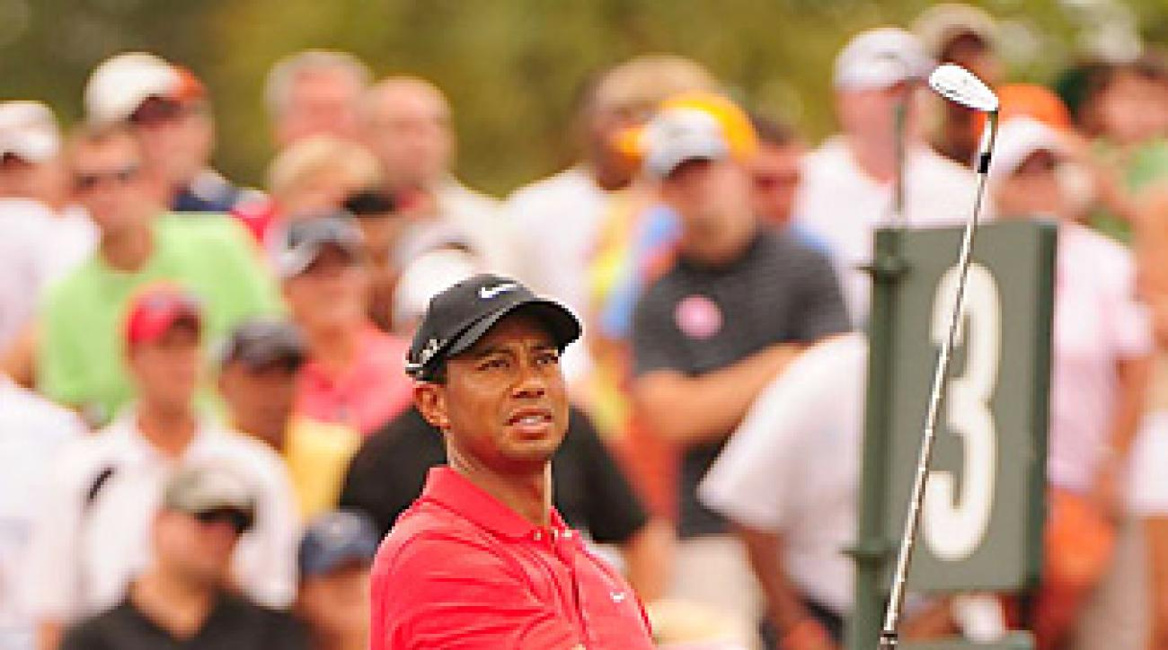 Tiger Woods tied for 40th at the Players.