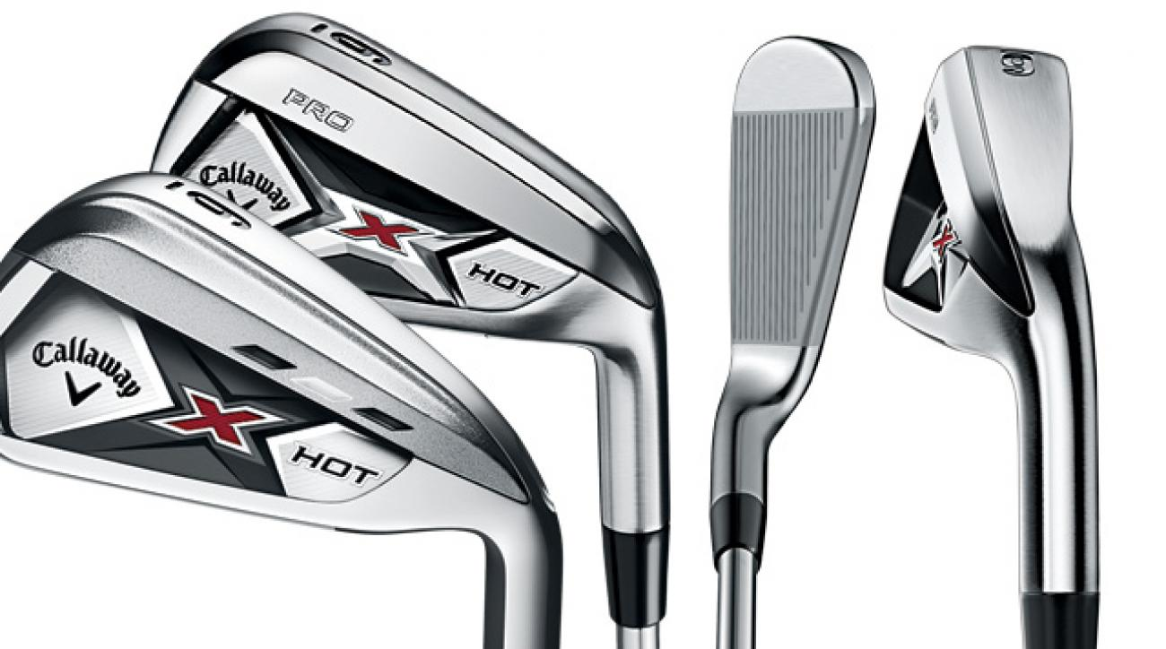 Callaway X Hot and X Hot Pro irons.