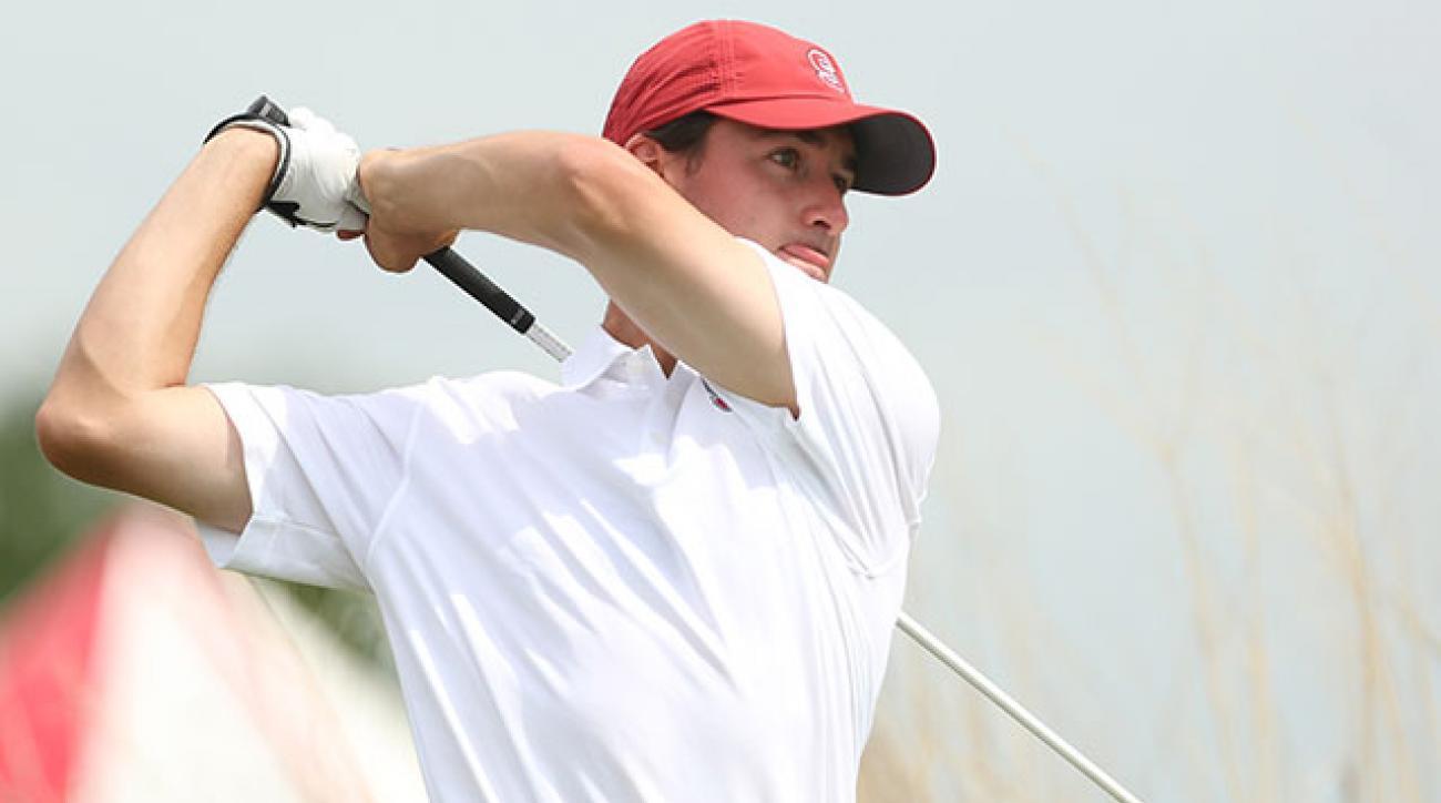 Cameron Wilson defeated Georgia Tech's Ollie Schniederjans in a three-hole playoff.