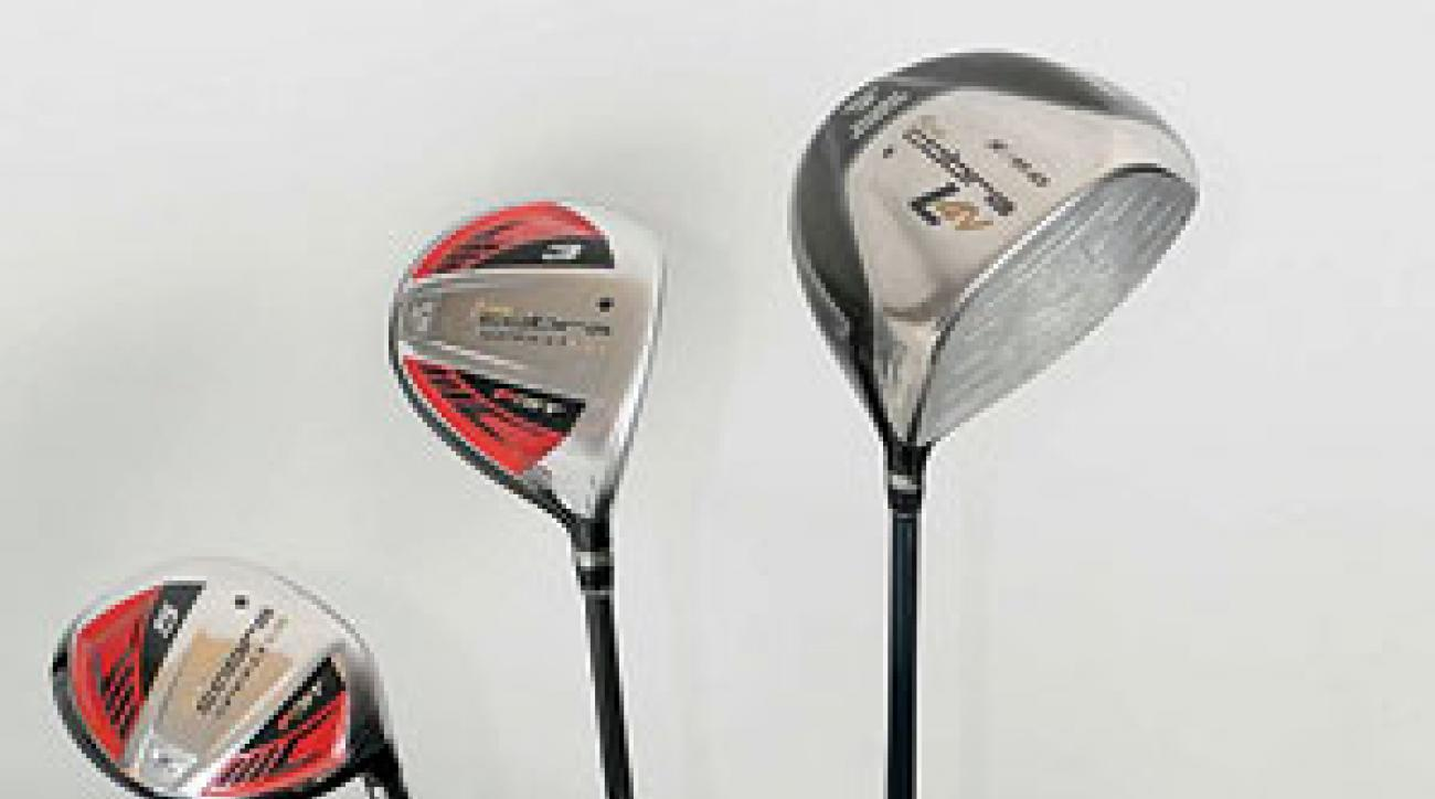 Camilo Villegas' golf clubs
