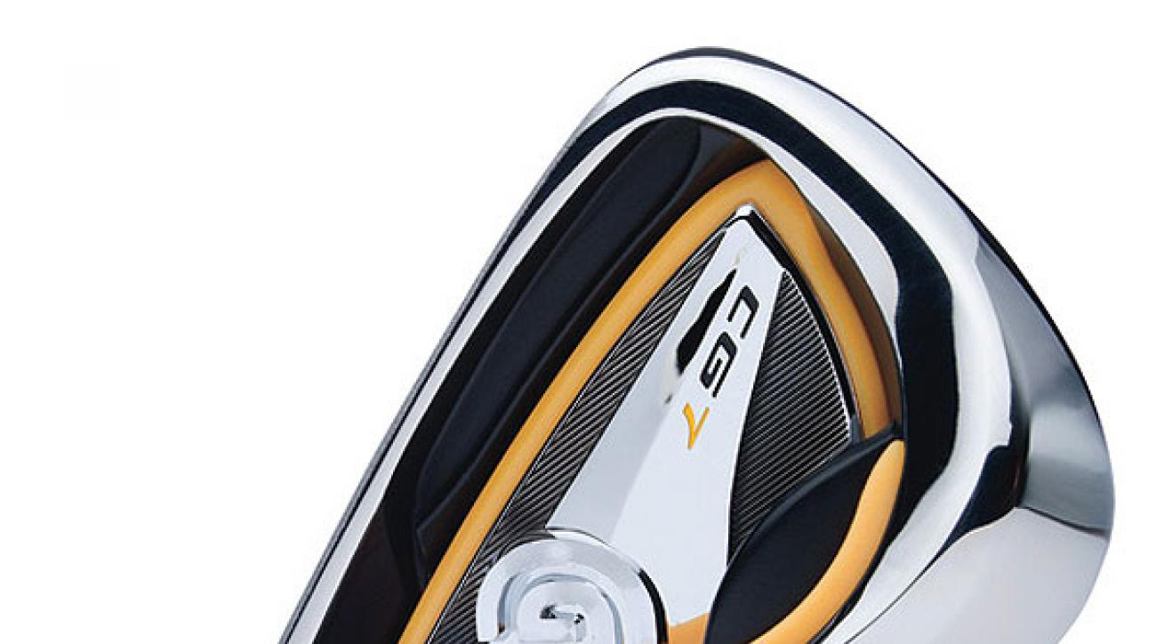 """<br />                 $599, steel; $699, graphite<br />                 <!-- --><a target=""""_blank"""" class=""""articlelink"""" href=""""http://www.clevelandgolf.com"""">clevelandgolf.com</a><!-- / --></p>                                  <p><strong>It's for:</strong> All skill levels</p>                                  <p><strong>Steve Chien, VP of R&D:</strong><br />                 """"Our R&D team was                 challenged to develop a club that's traditional in                 shape and packed with technology to outperform its                 competition. The result is our two most technically                 advanced irons (the CG7 and CG7 Tour). Each offers                 improved feel due to '360-degree Gelback' technology and                 more distance and forgiveness, in a classic look.""""</p>                                  <p><strong>How it works:</strong> A one-piece, molded viscoelastic insert around the                 perimeter of the cavity and base of the head (Gelback) absorbs                 shock at impact for more consistent feel across the face. Progressive                 """"micro-cavity"""" technology (decreases in size from long to short irons)                 fosters control throughout the set. The micro-cavities enable up to                 9 grams to be shifted from topline to sole. The CG7 has a 5 percent                 higher MOI and a 10 percent deeper center of gravity than CG Gold                 irons, for greater ball speed and overall distance.</p>                                  <p><!-- --><a class=""""articlelink"""" href=""""http://equipment.golf.com/golf/clubs/men-iron-set/cleveland-cg7-tour/e_pid-1015132.aspx""""><strong>CG7 Tour</strong></a><!-- / --> irons, designed for low and mid-handicappers, feature                 a smaller blade, thinner topline and less offset than the CG7. The                 center of gravity in the CG7 Tour is 17 percent deeper than the                 CG Red irons.</p>                                  <p><!--  --><a c"""