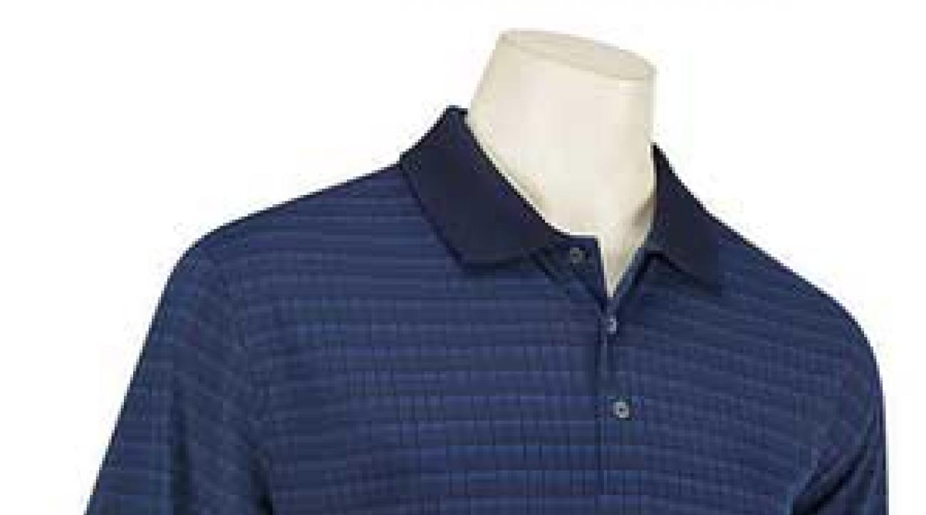 Jacquard golf shirt from Cleveland Golf