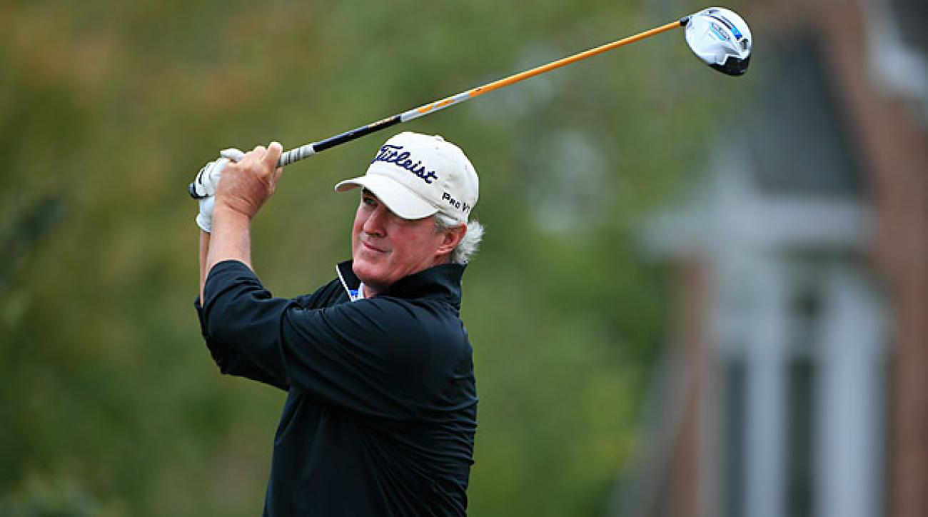 54-year-old Russ Cochran has already captured five Champions Tour victories after winning just once on the PGA Tour.