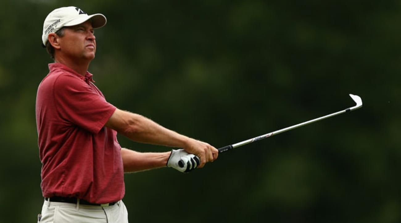 The 49-year-old Love's last win on Tour came in 2008 at the Children's Miracle Network Classic.