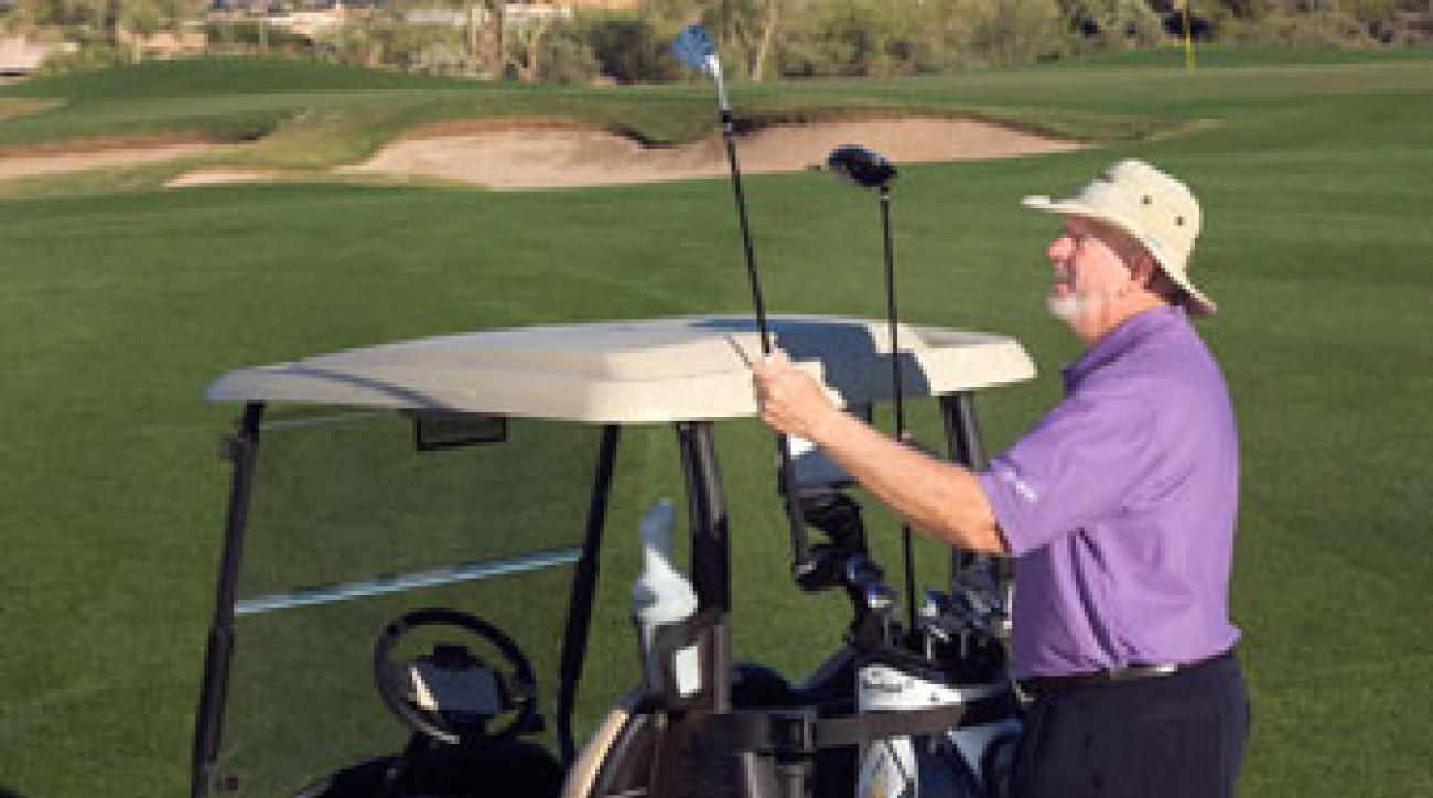 """Avoid """"1-club"""" bag swaps and you'll play a faster round."""