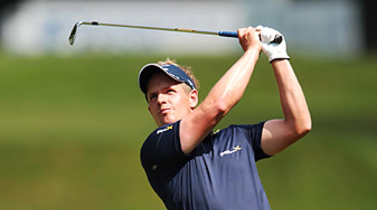 Luke Donald won the BMW PGA Championship by four shots.