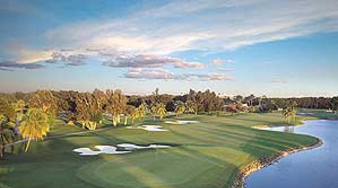 Monster's bite: the infamous closing hole at Doral's Blue Course.
