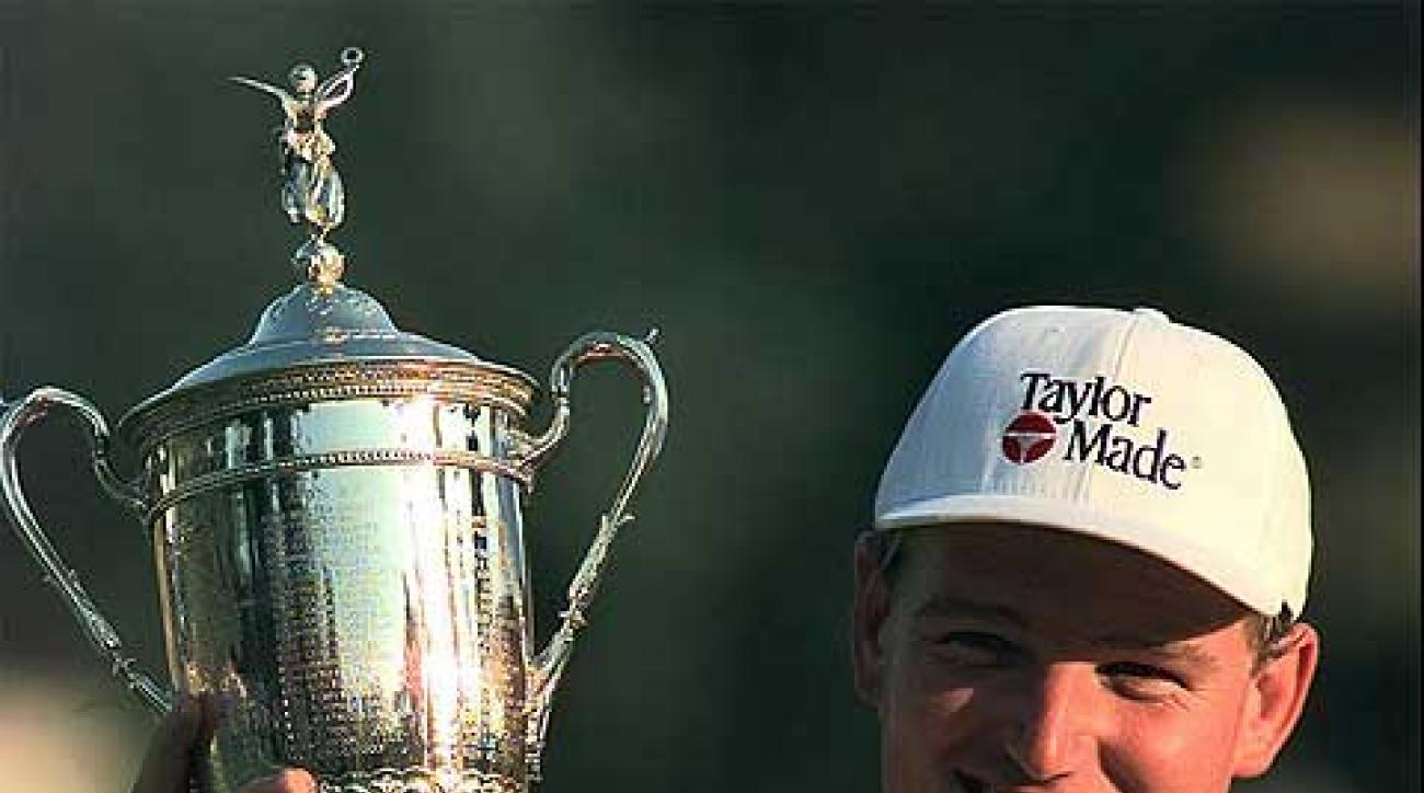 At a steamy Congressional in 1997, Els earned his second U.S. Open title.