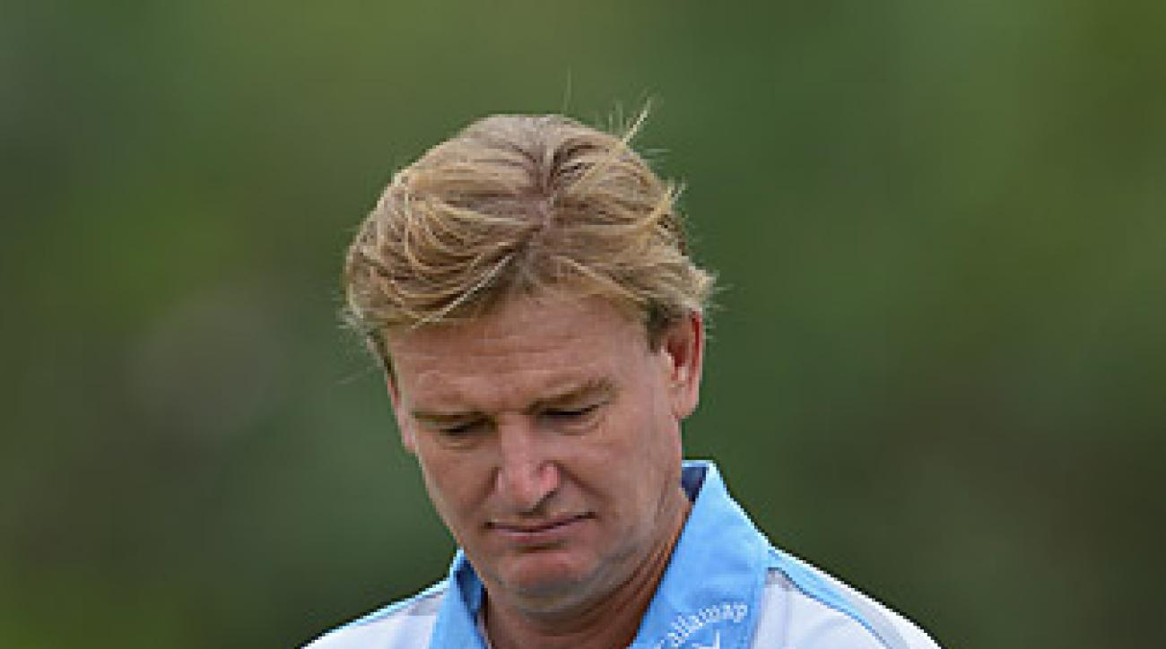 """Ernie Els, competing in the Nedbank Challenge in South Africa, called Vanstiphout """"brilliant"""" and said the psychologist had a big impact on his career."""