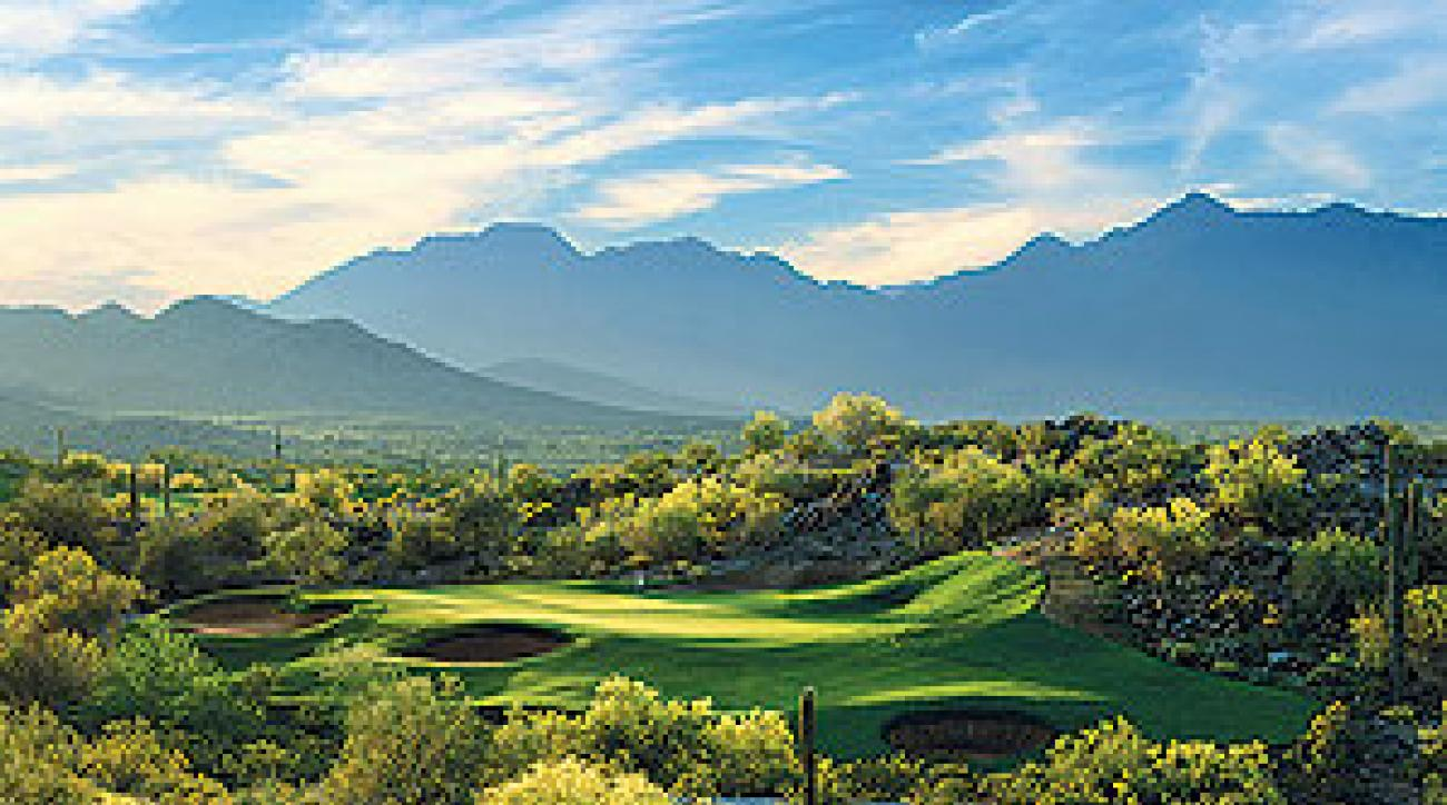 The Golf Club at Estrella in Phoenix beats a day meeting with colleagues.