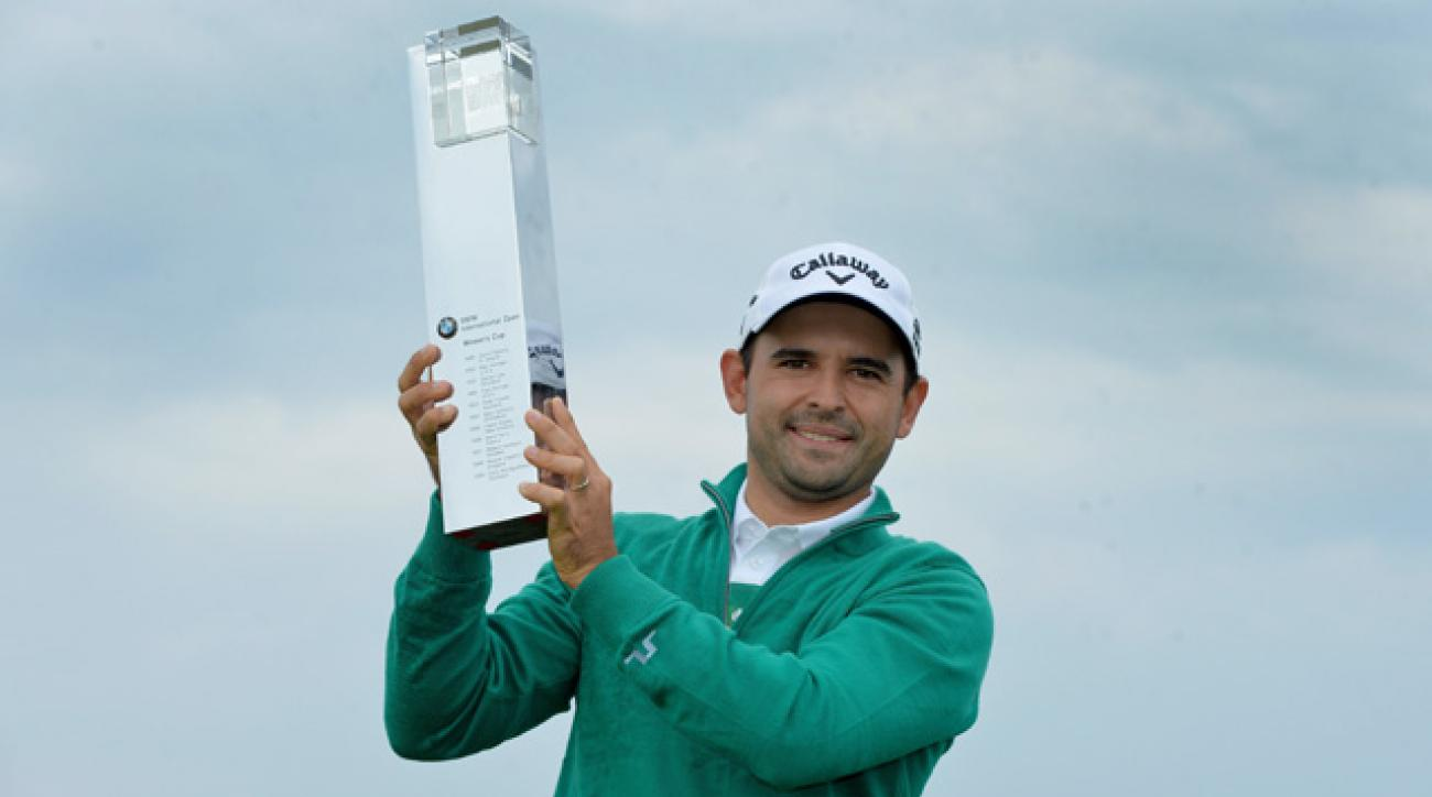 Fabrizio Zanotti shot a 7-under 65 on Sunday.