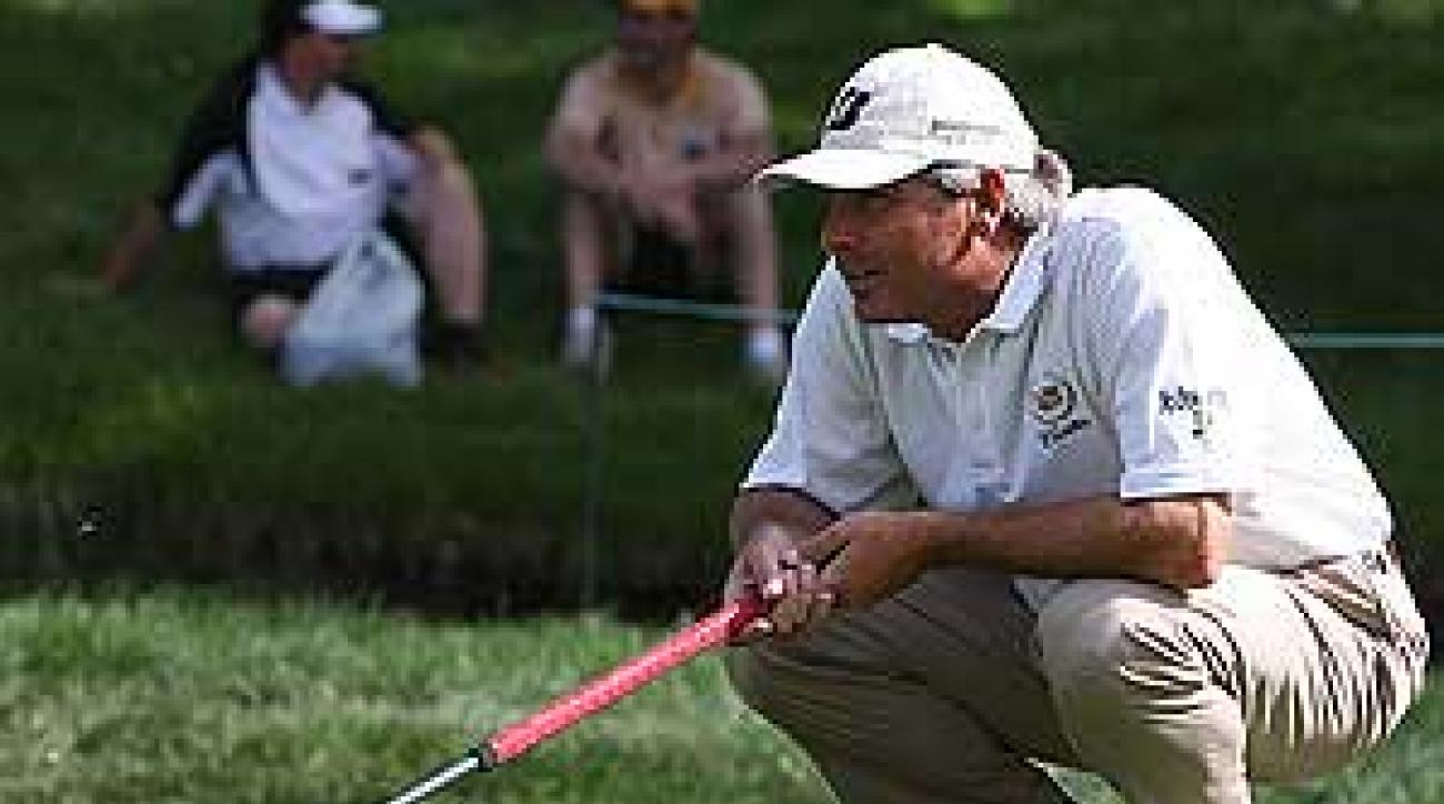 Fred Couples, the epitome of casual style, has worn Ashworth for years.