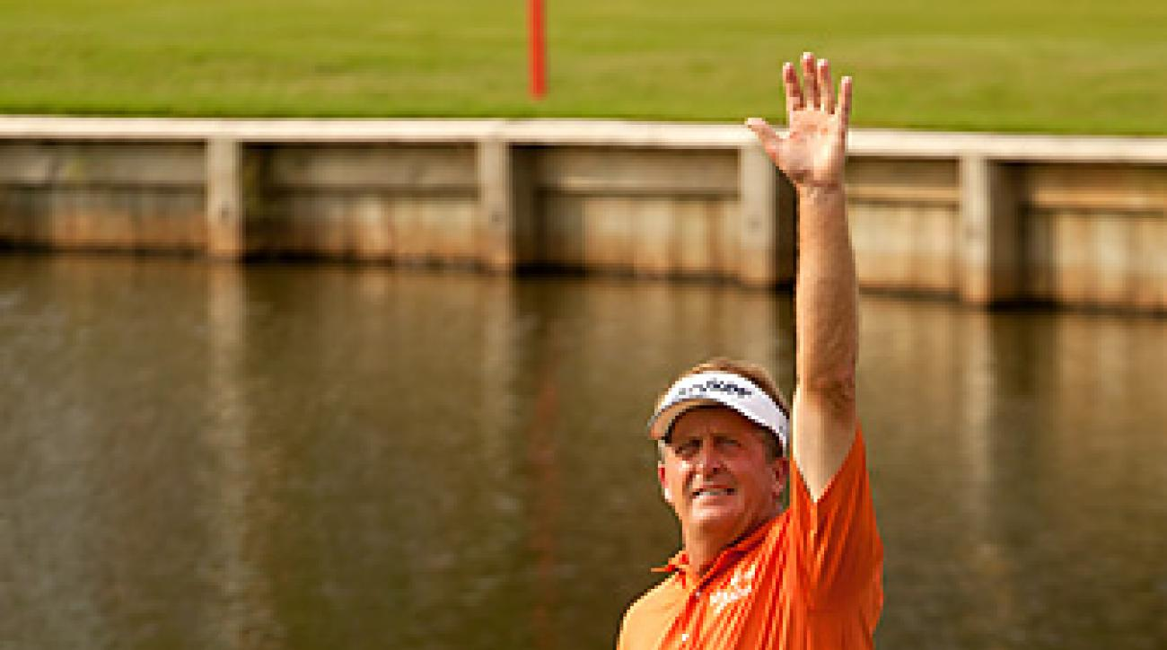 Fred Funk earned his seventh victory on the 50-and-over tour.