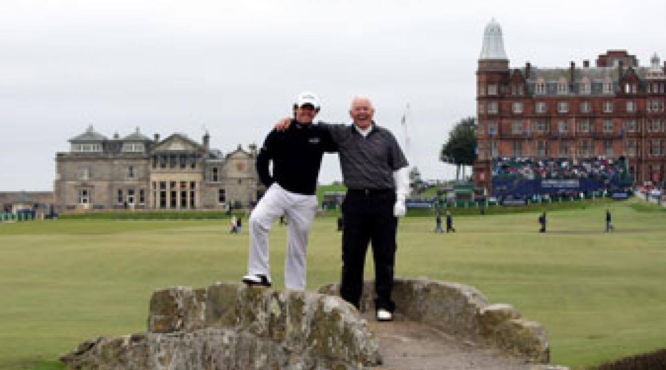 With a win by his son, Gerry McIlroy can cash in for around $341,730.