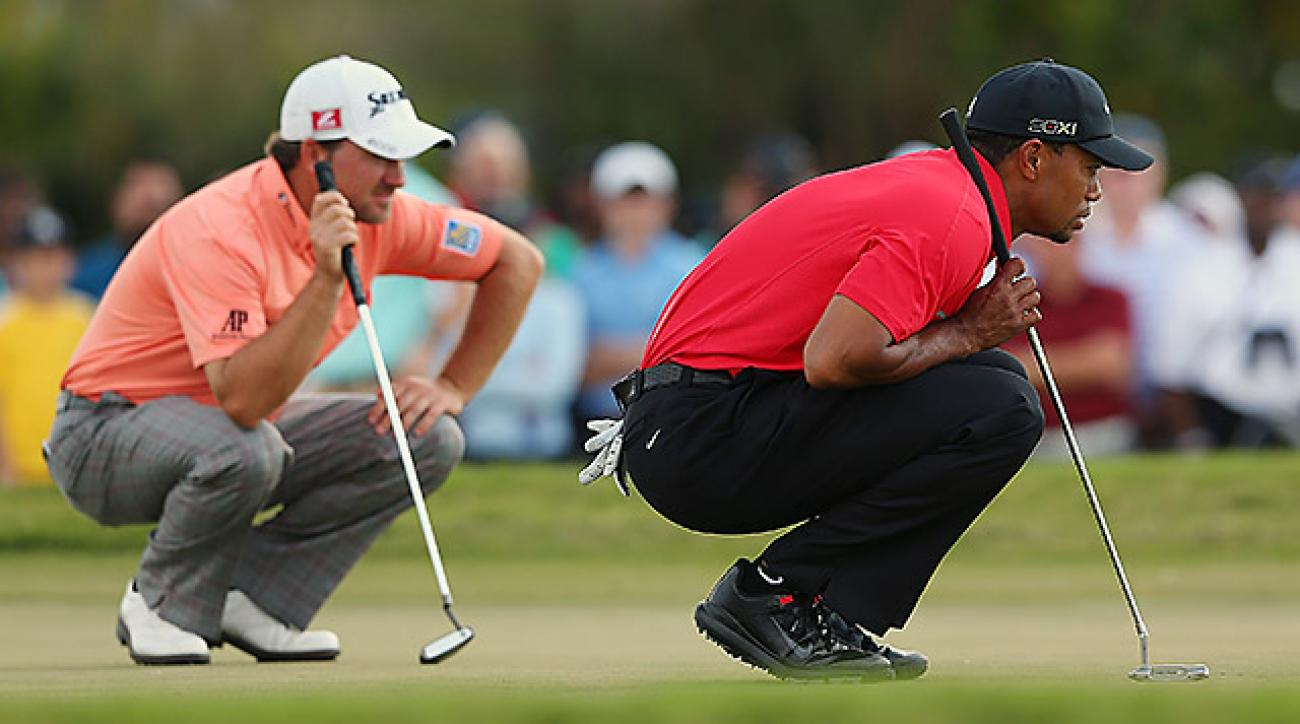Graeme McDowell's bid to ascend the World Rankings and reenter the top five fell short as his impressive 2013 campaign was eclipsed by those of other elite players, like Tiger Woods.