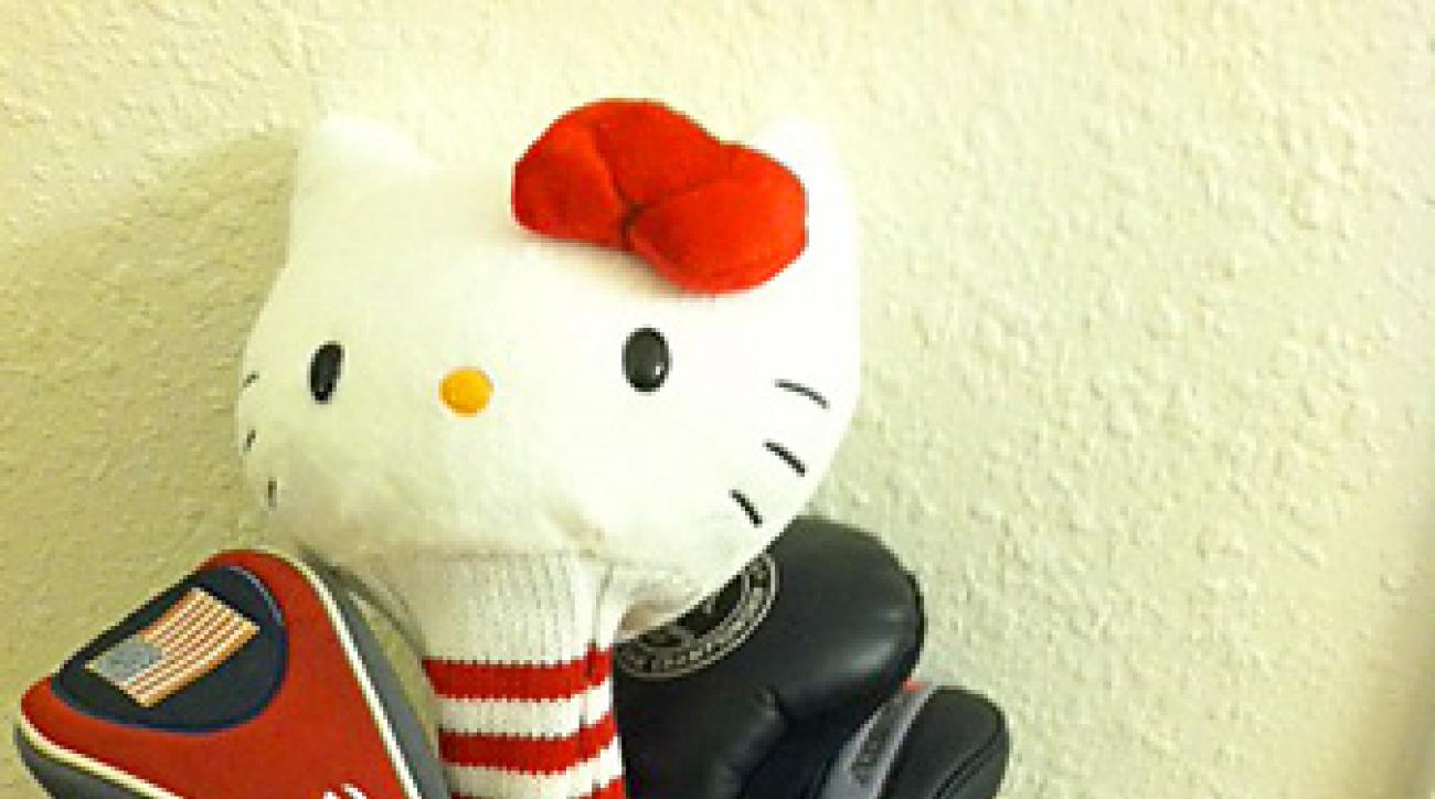 Headcover from Hello Kitty.