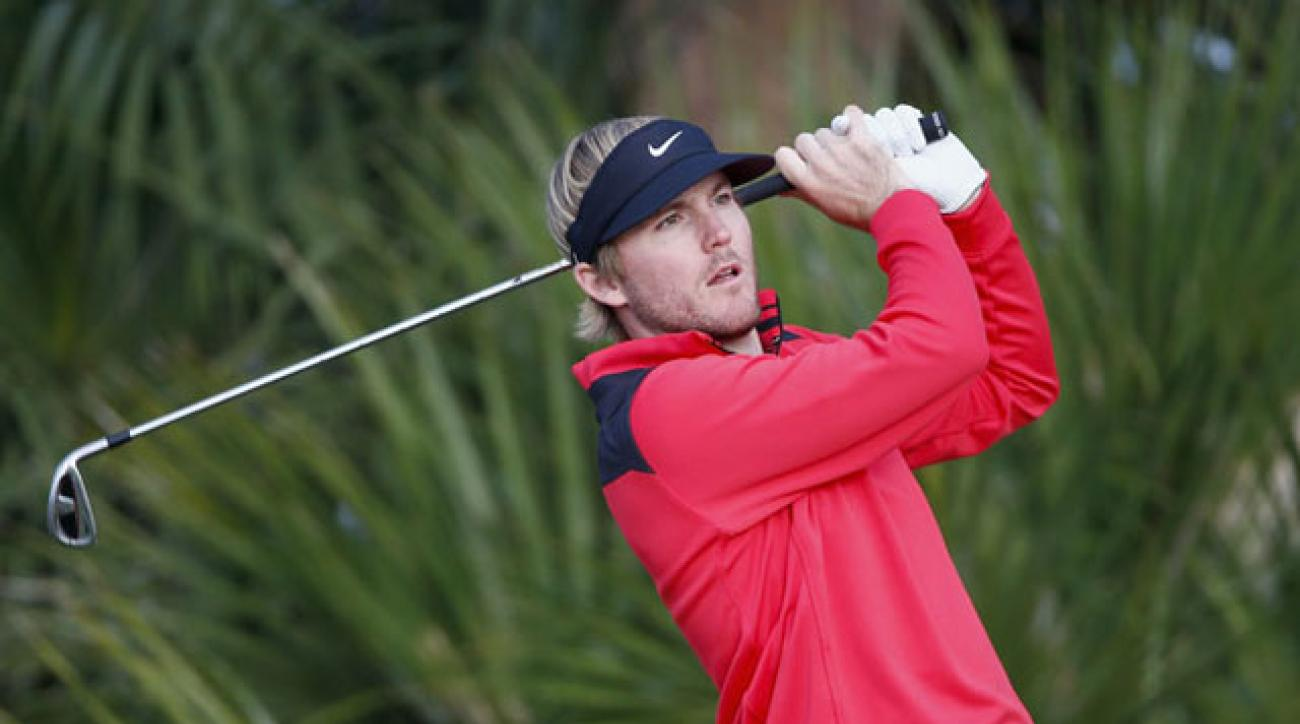 Russell Henley leads the McGladrey Classic by a shot after two rounds.