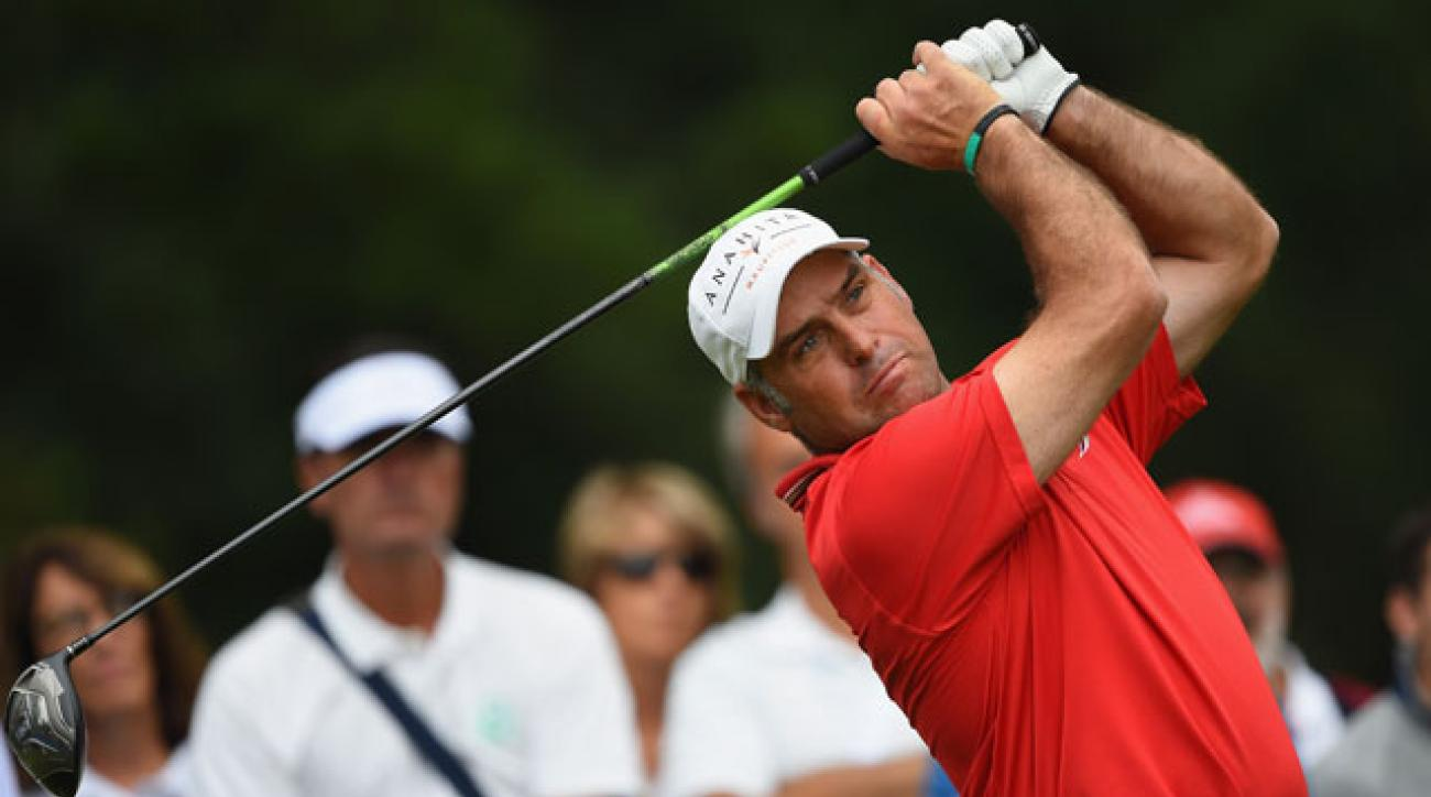 Hennie Otto has a three-stroke lead after two rounds at the Italian Open.