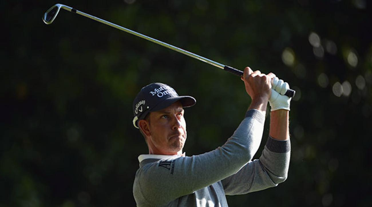 Henrik Stenson is currently No. 3 in the Official World Golf Ranking.