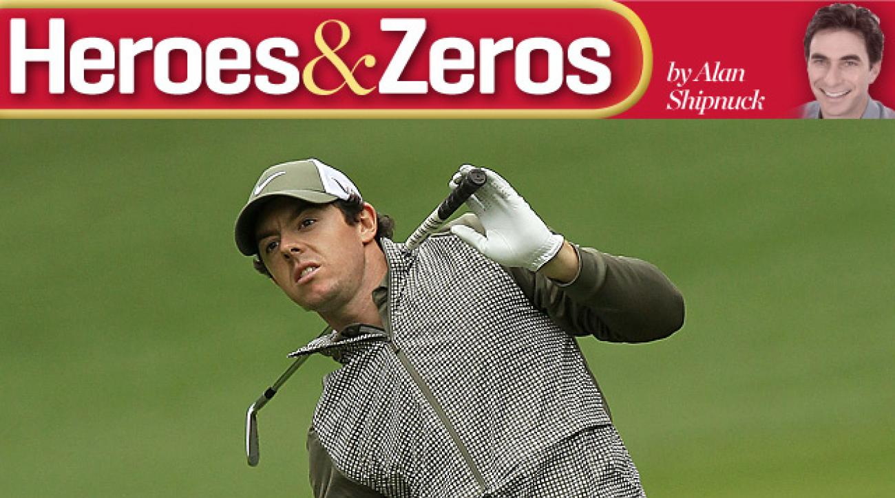 Rory McIlroy was in contention at Quail Hollow, but faded on Sunday into a tie for 10th.
