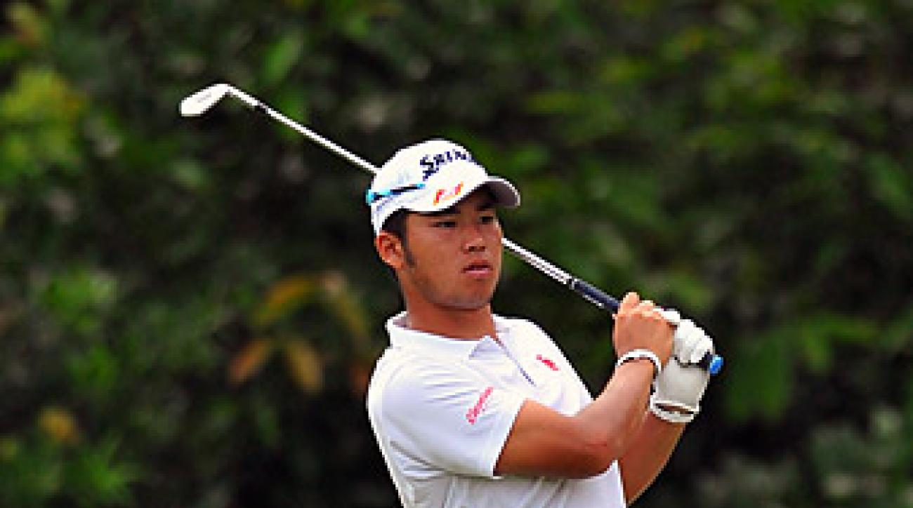 Since turning pro in April, Matsuyama has won five tournaments on the Japan Tour.