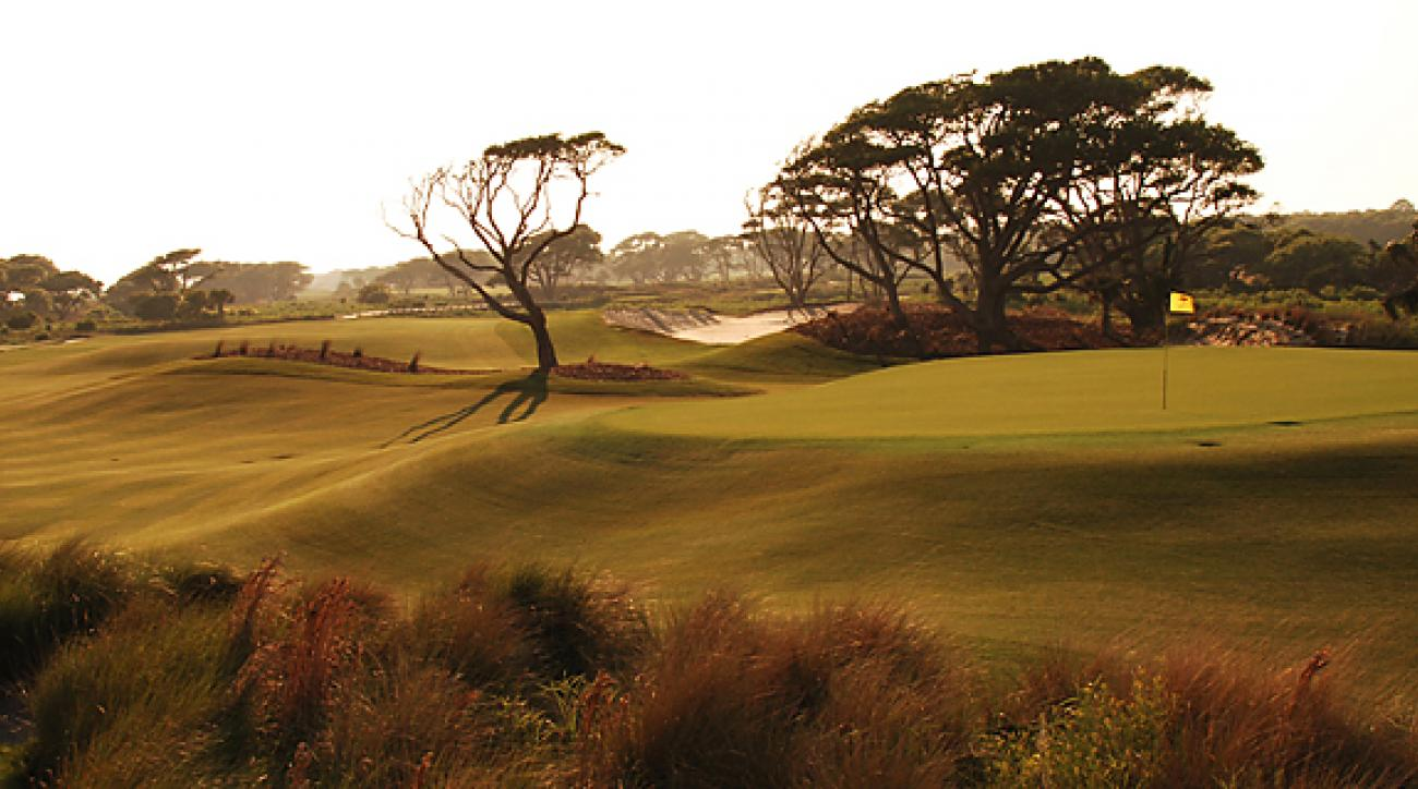 The Ocean Course sits hard by the Atlantic, but its forced carries and target-golf hardly fit the description of a links layout.
