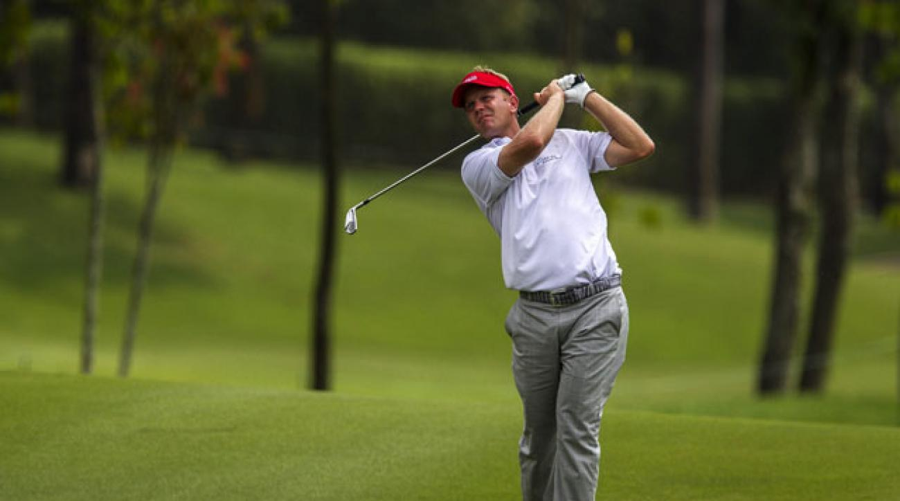 Billy Hurley III has a two-shot lead over Kevin Streelman at the CIMB Classic at the Kuala Lumpur Golf and Country Club.