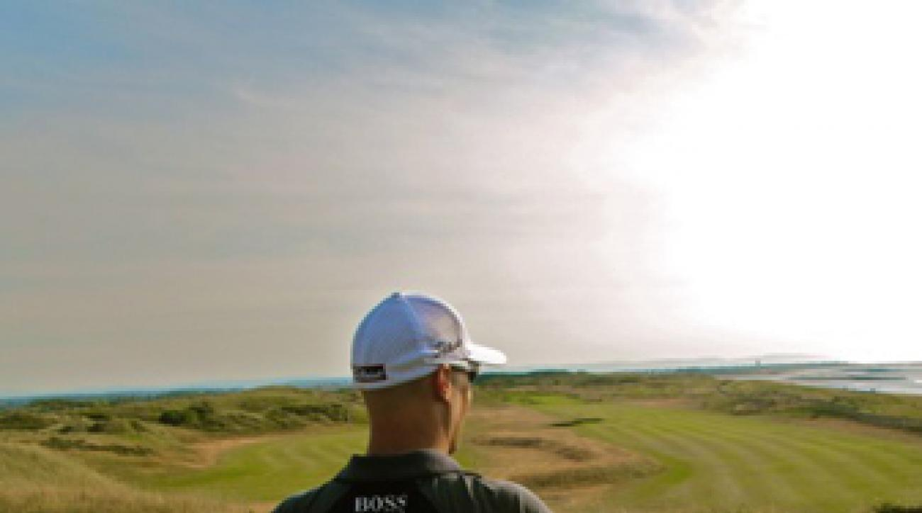 Ben Crane traveled to England for the British Open as an alternate but didn't make it in the field.