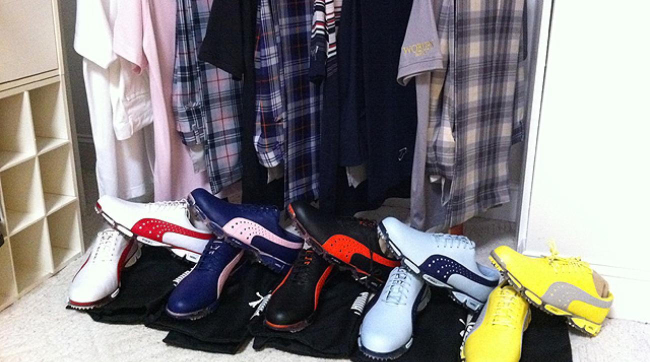 Ian Poulter's Puma footwear