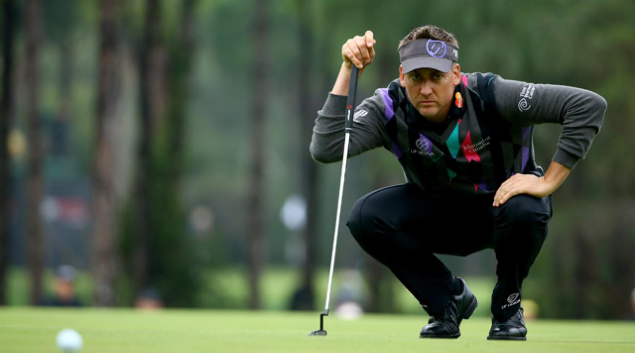 Ian Poulter lost a commanding lead during day three of the Turkish Airlines Open.