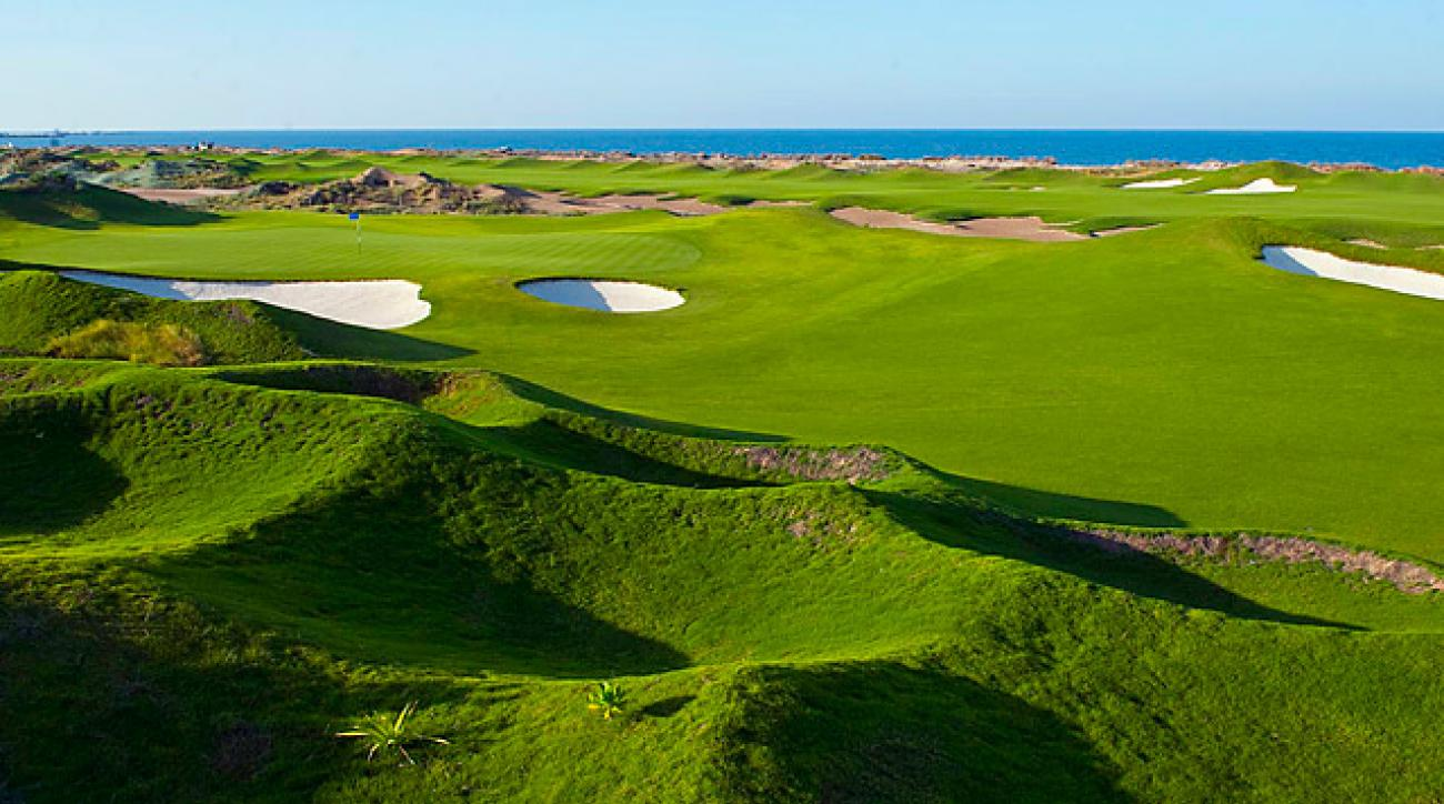 Almouj Golf at The Wave in Muscat, Oman.