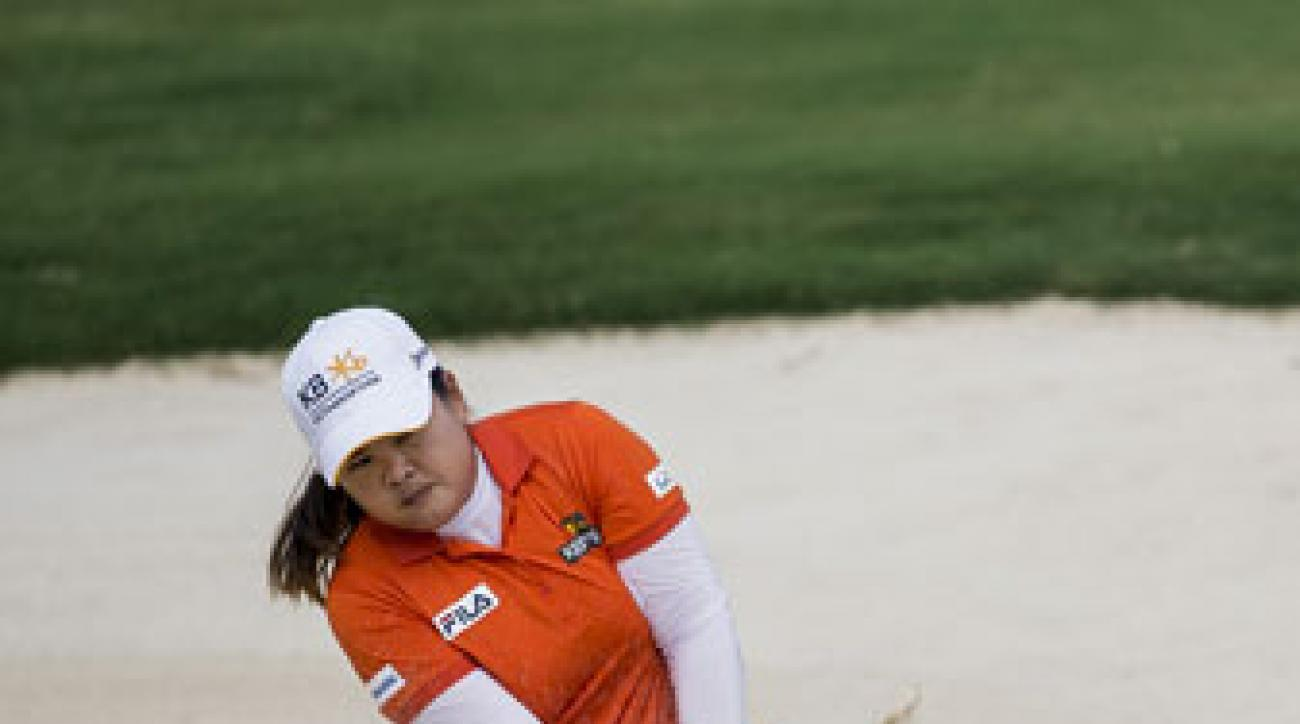 Inbee Park leads the LPGA Taiwan Championship by four shots.