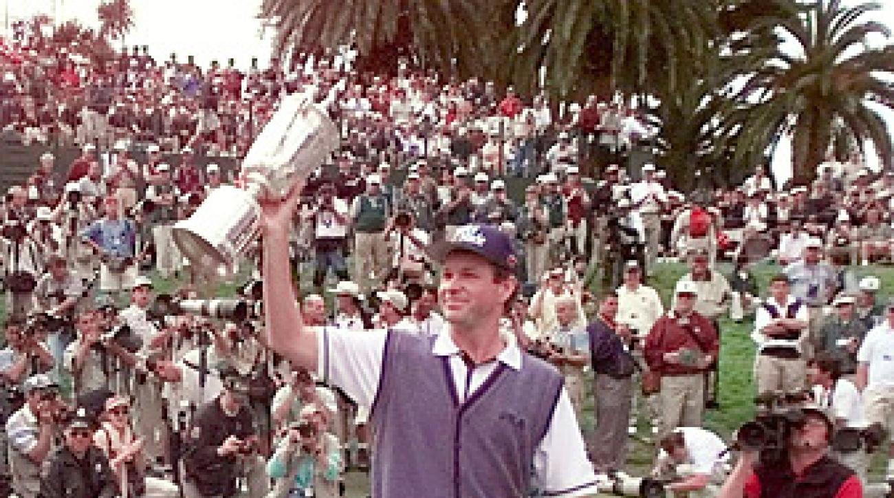 Lee Janzen won the 1998 U.S. Open at Olympic.
