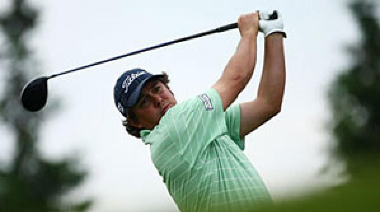 Jason Dufner is alone on top of the leaderboard.