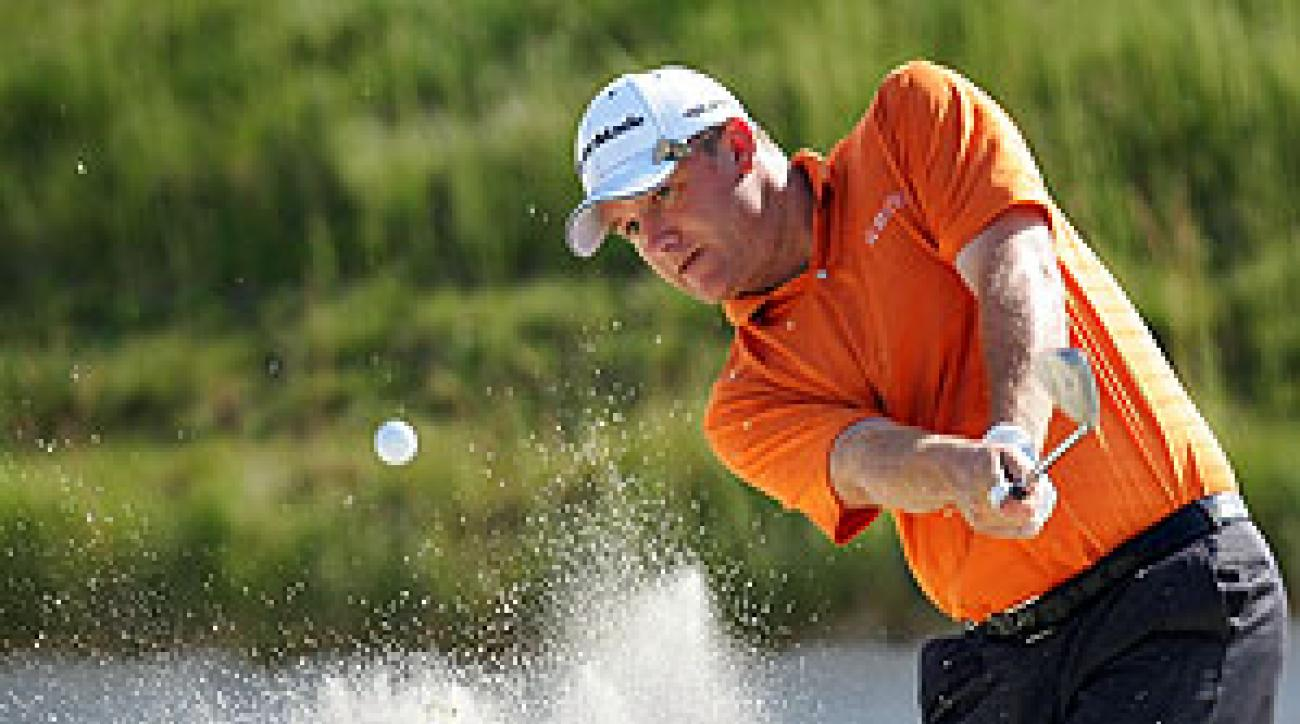 After saying good-bye to golf, Jason Allen is back and playing in the U.S. Open.