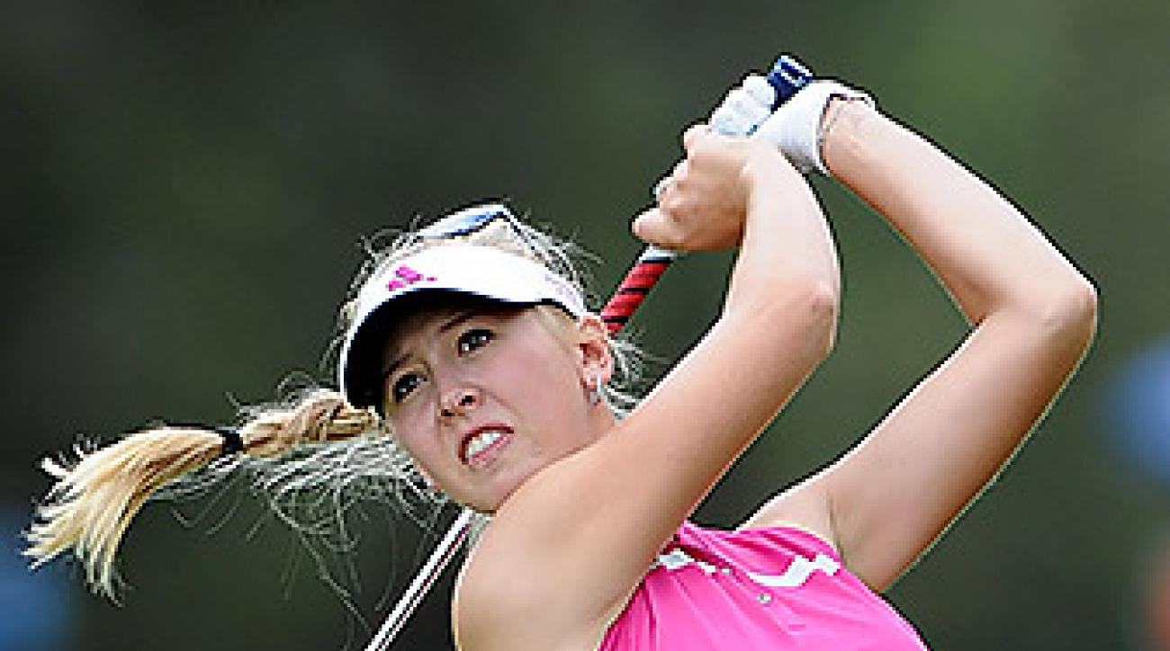 A week after winning the LPGA's season opener in the Bahamas, Jessica Korda is off to another strong start.