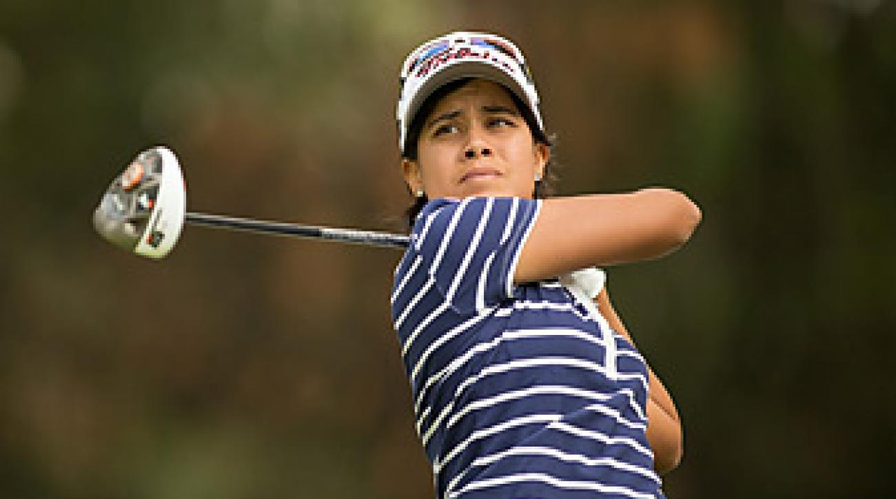 Julieta Granada went six under on Thursday to take the lead.