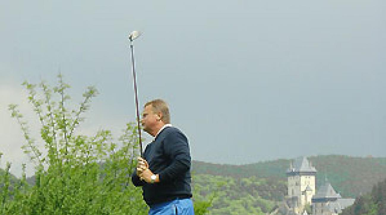 Karlstejn is one of only 80 courses in the Czech Republic.