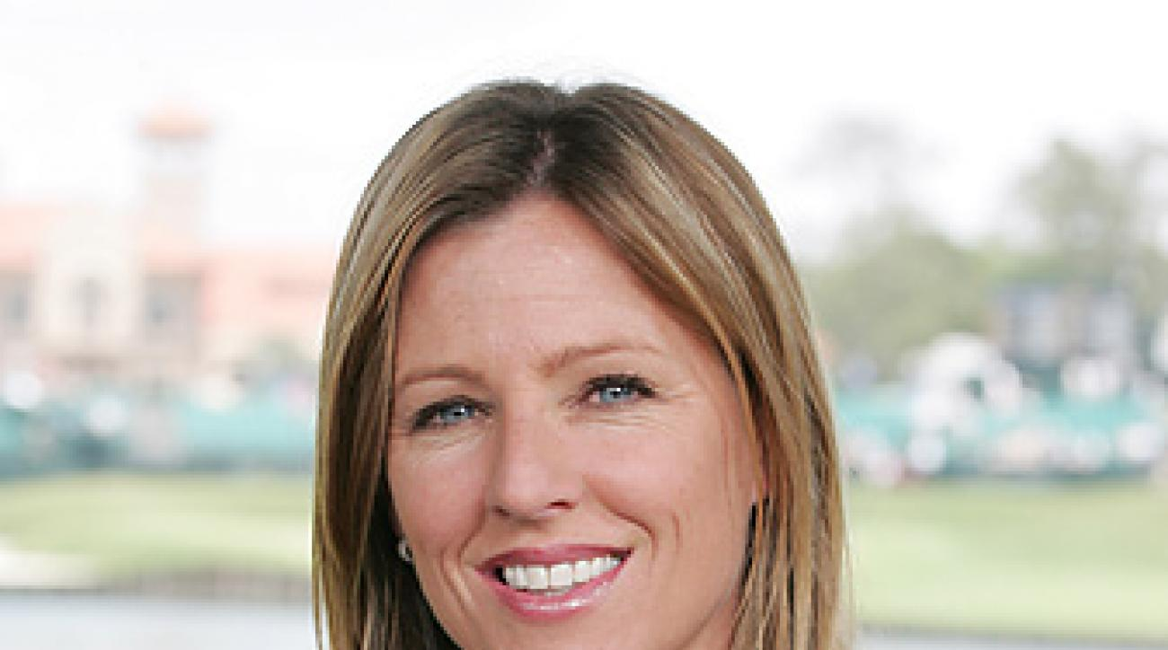 Kelly Tilghman began working at the Golf Channel when the network first launched in 1995.