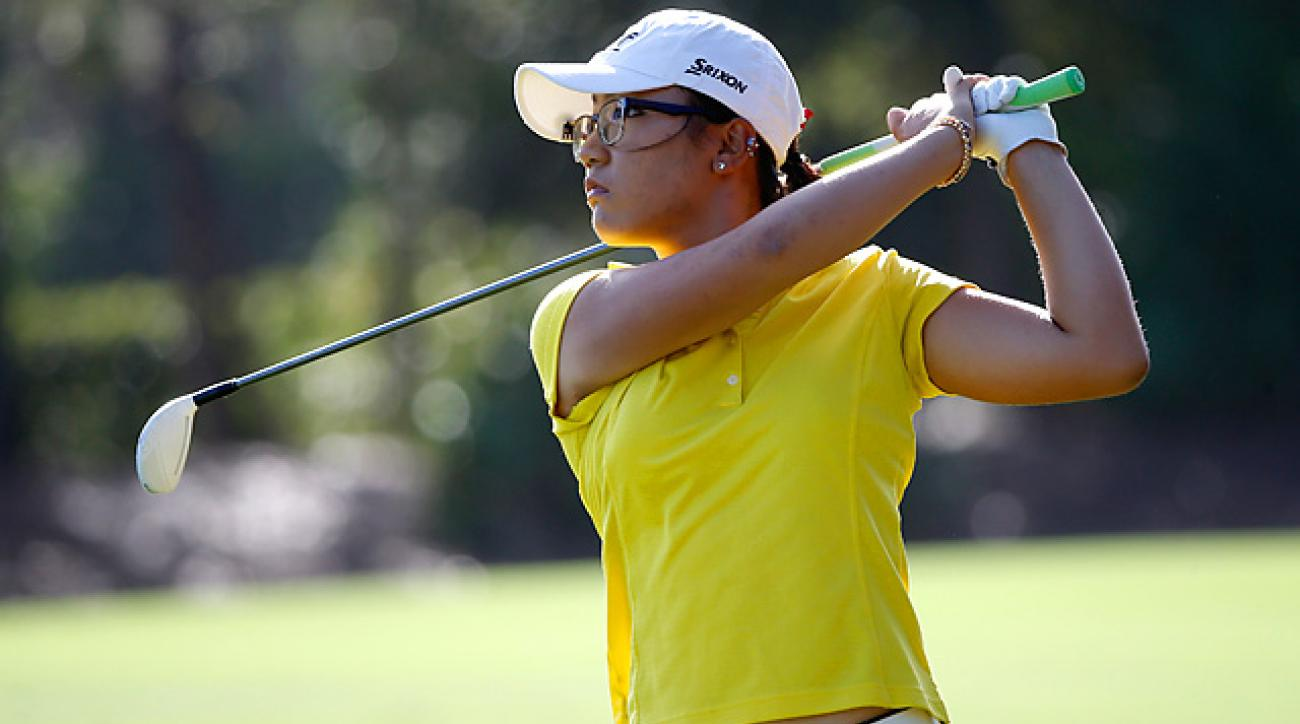 Lydia Ko shot a 71 in the second round of the LPGA Titleholders.
