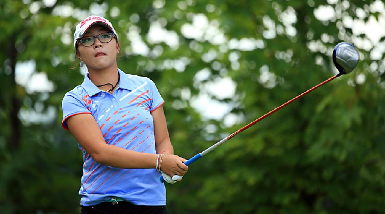 16-year-old Lydia Ko could make history Sunday at the Evian Masters.