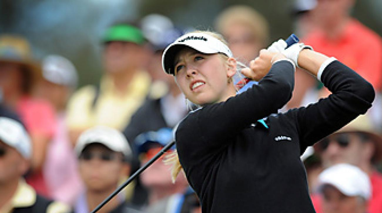 Jessica Korda earned his first career LPGA victory.