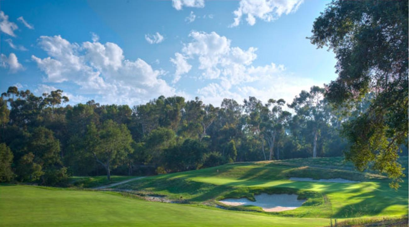 The sixth at Los Angeles Country Club.