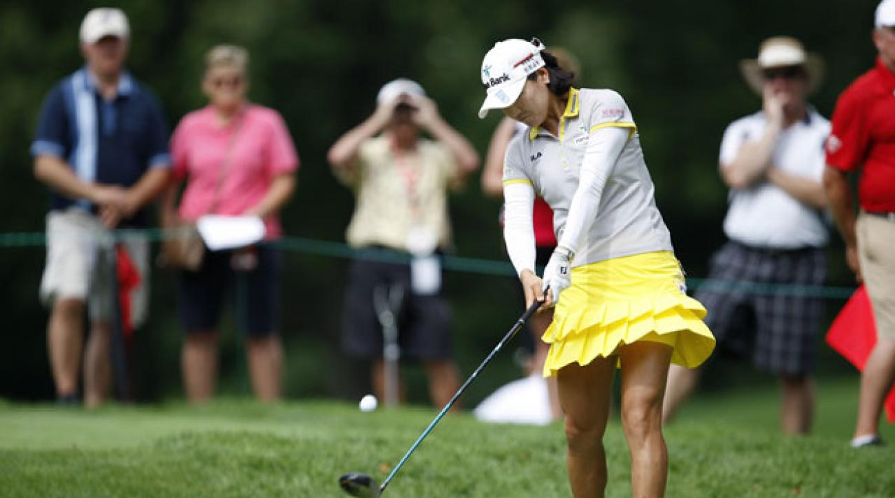 So Yeon Ryu shot 66 and extended her lead to five shots at the Canadian Women's Open.