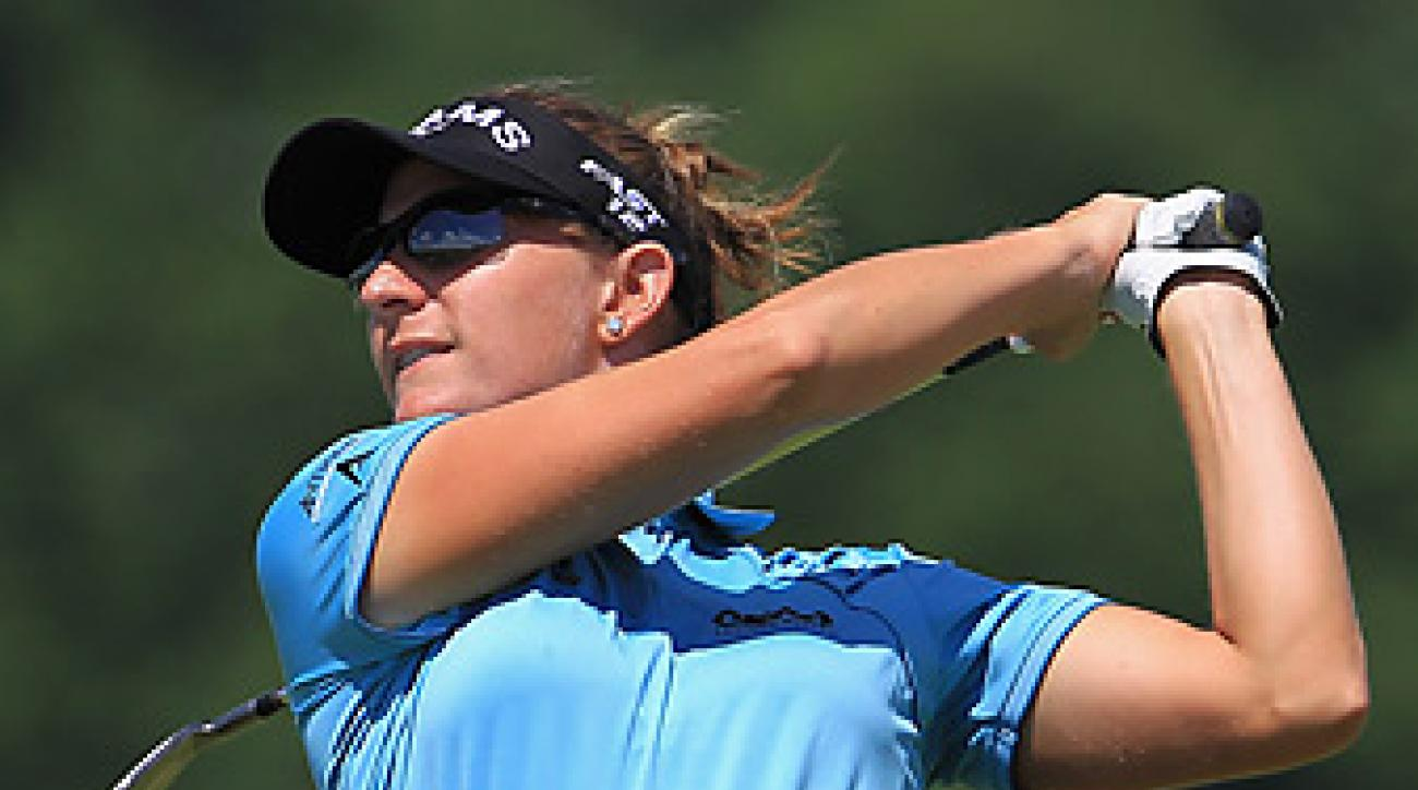 Brittany Lang won her first career LPGA title.