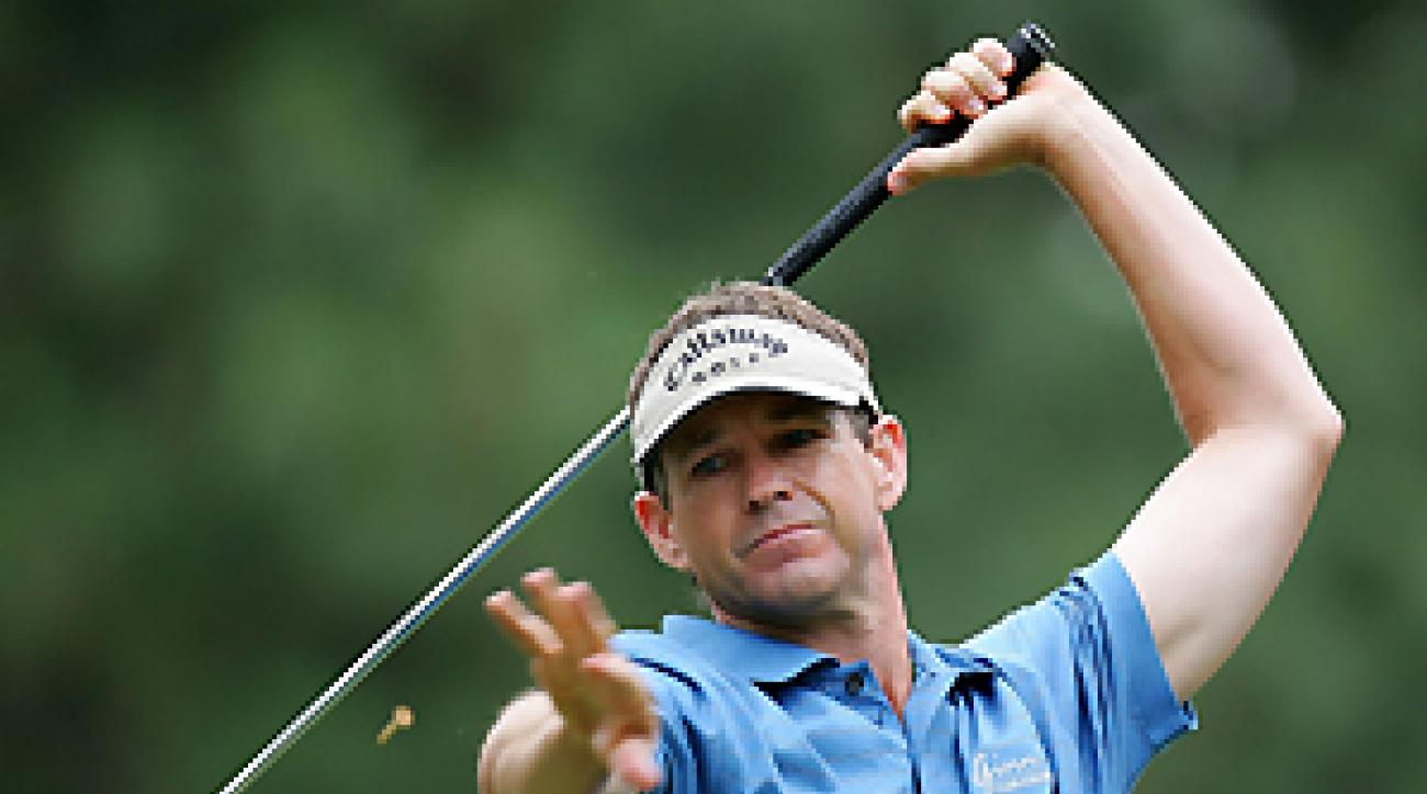 If Lee Janzen could hit his drives as far as he throws his irons, maybe he would not be at Q School this week.